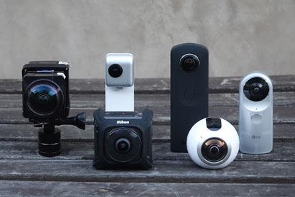 best 360 cameras for 2018