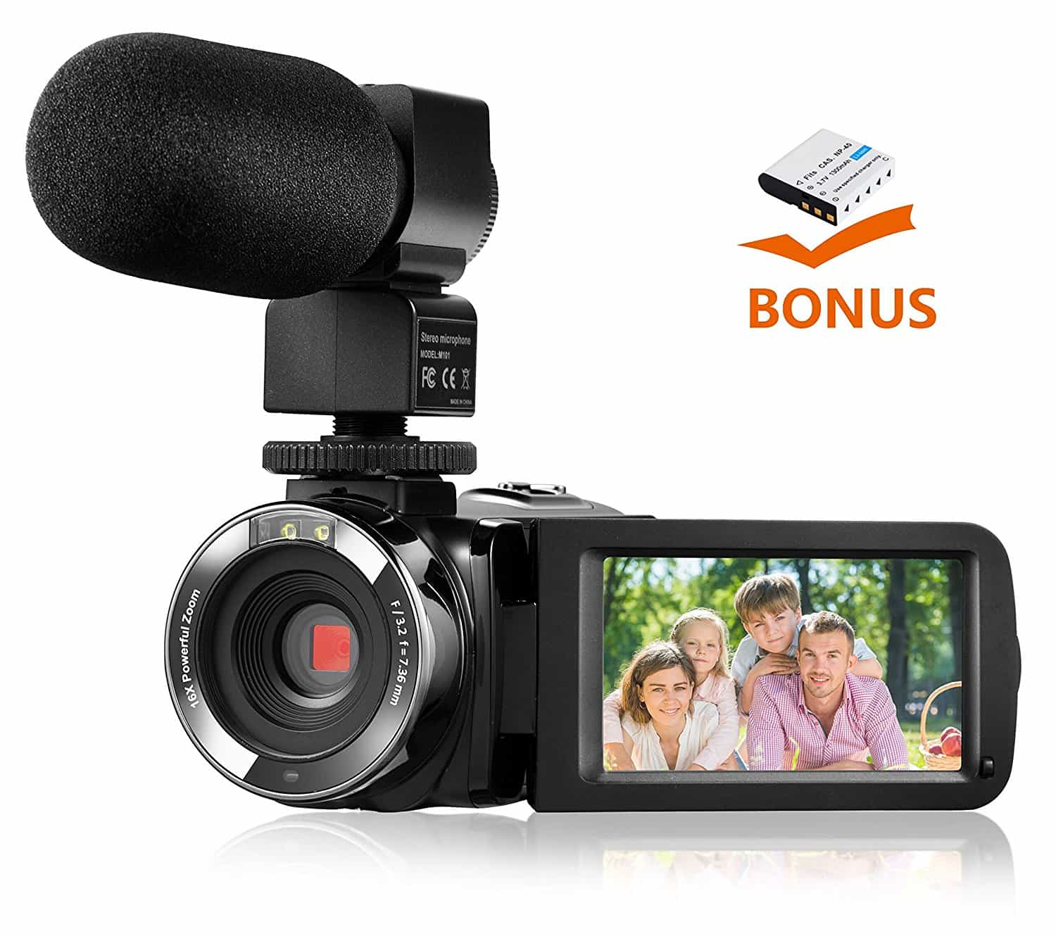 best camcorder for audio recording