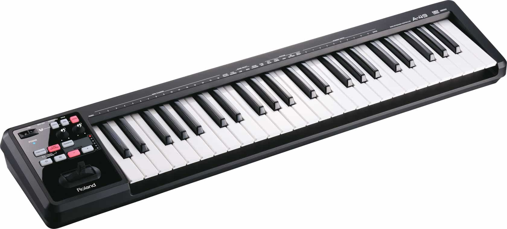 Professional midi keyboards