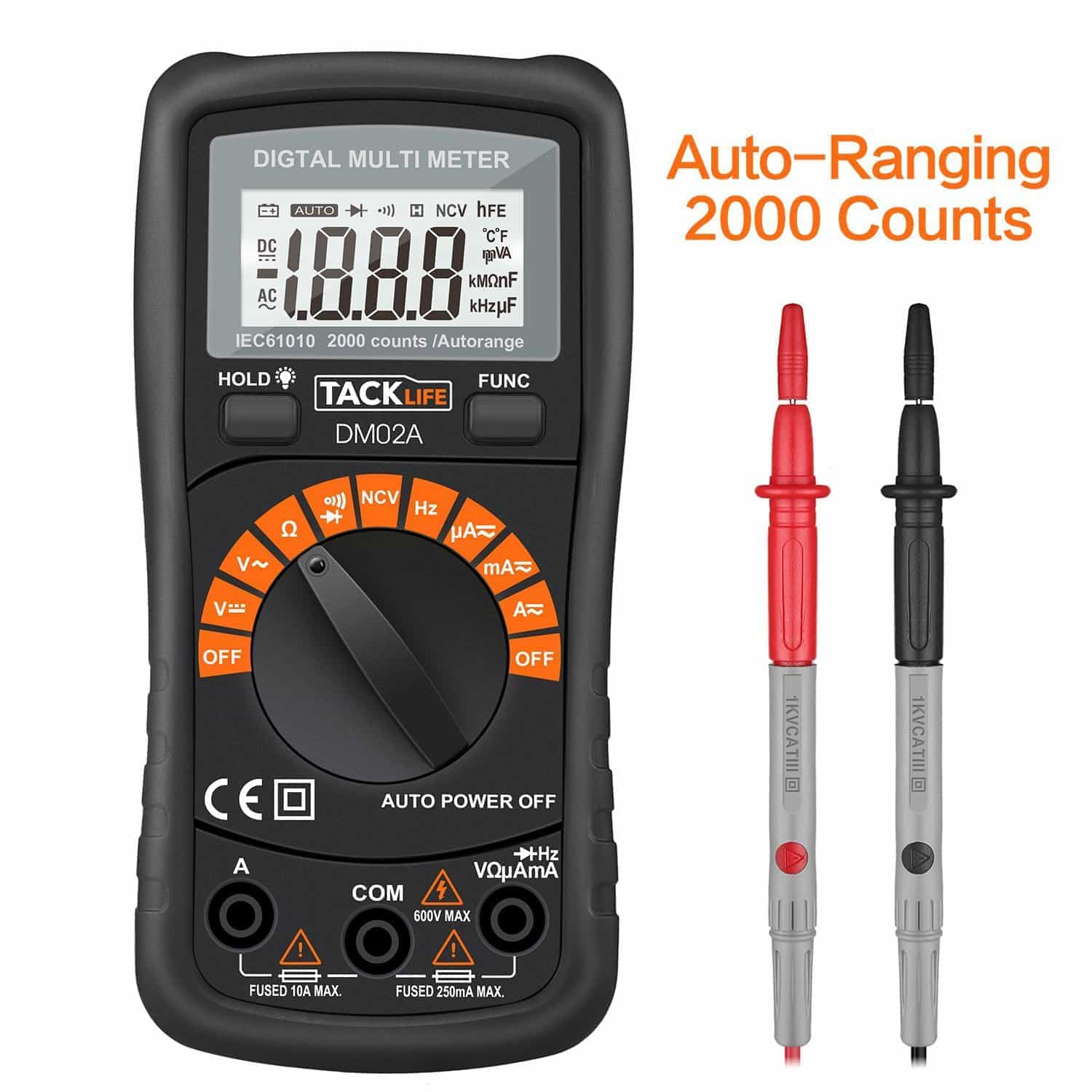 best multimeter in 2018