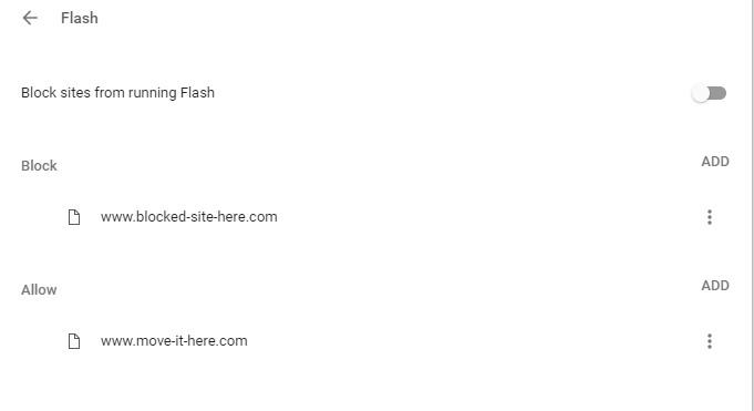 test flashplayer