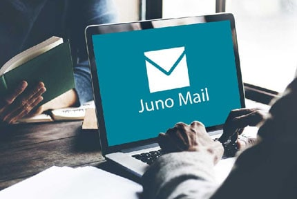 juno email settings
